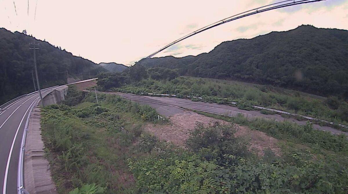 江の川・乙原ライブカメラと雨雲レーダー/島根県美郷町