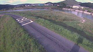 江の川・下小原 左岸160k0ライブカメラと雨雲レーダー/広島県安芸高田市甲田町