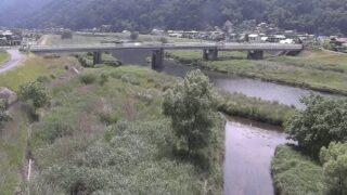 江の川・常友ライブカメラと雨雲レーダー/広島県安芸高田市吉田町