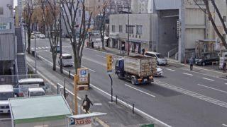 国道13号(信夫通り) ライブカメラと雨雲レーダー/福島県福島市