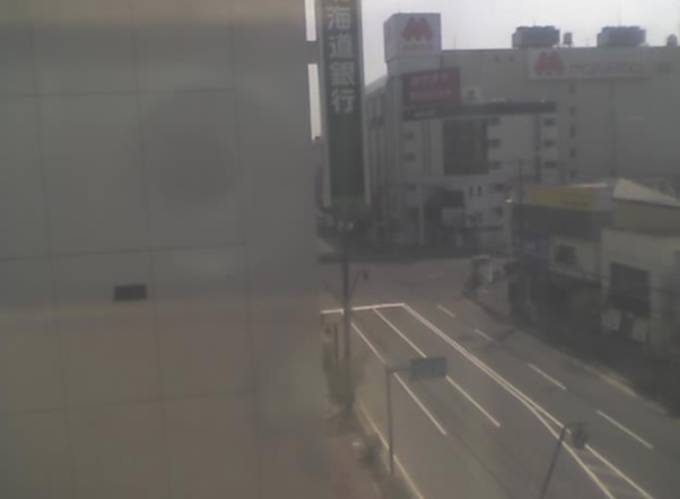 五稜郭公園交差点ライブカメラと雨雲レーダー/北海道函館市