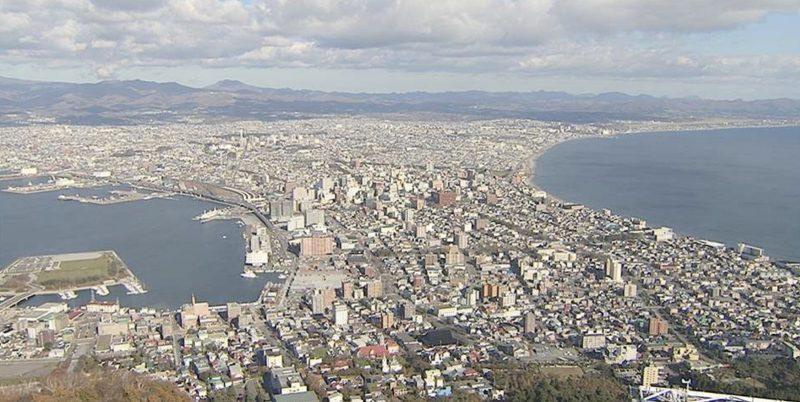 函館山 ライブカメラ(STV)と雨雲レーダー/北海道函館市