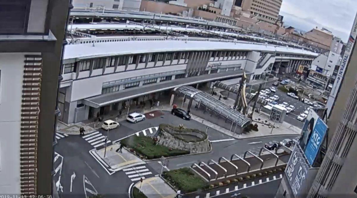 JR浜松駅 ライブカメラと雨雲レーダー/静岡県浜松市中区