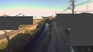 鳩川・長戸呂橋ライブカメラと雨雲レーダー/神奈川県座間市四ツ谷