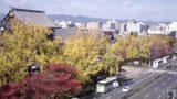 東本願寺 ライブカメラ(烏丸通り)と雨雲レーダー/京都府京都市