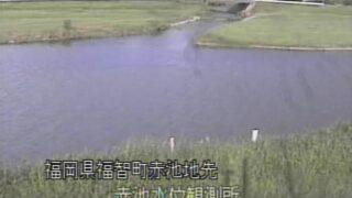 彦山川・赤池水位観測所ライブカメラと雨雲レーダー/福岡県福智町赤池