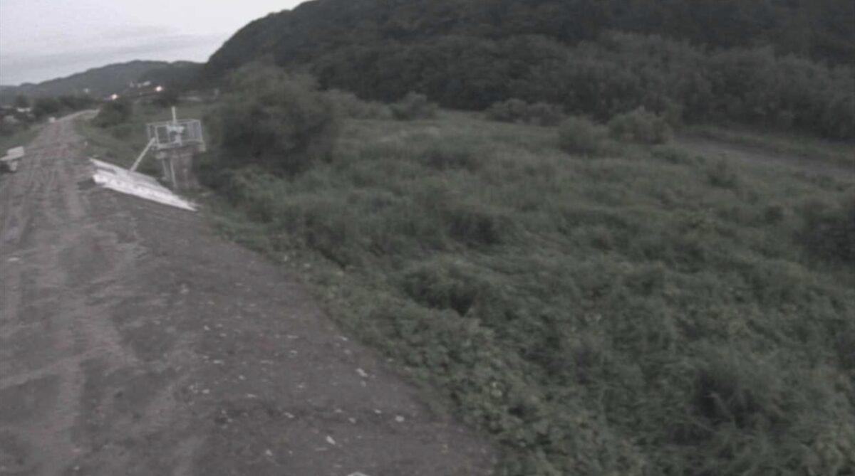 日野川・大江ライブカメラと雨雲レーダー/鳥取県伯耆町大江