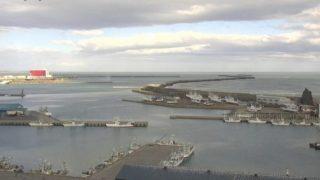 十勝港 ライブカメラ(広尾)(HBC)と雨雲レーダー/北海道広尾町