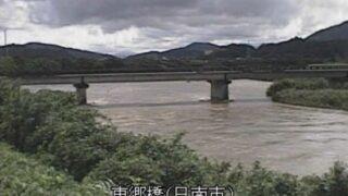 広渡川・東郷橋ライブカメラと雨雲レーダー/宮崎県日南市松永