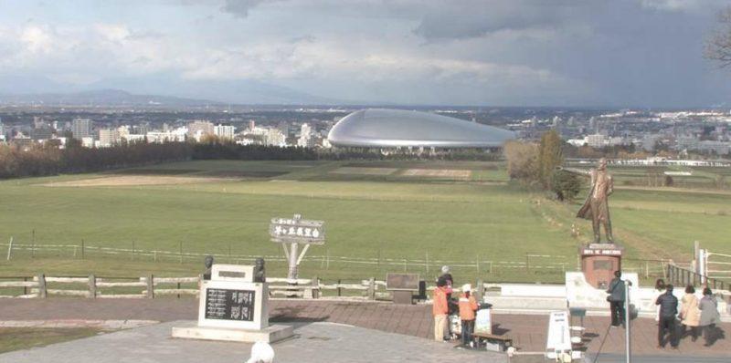 さっぽろ羊ヶ丘展望台 ライブカメラ(STV)と雨雲レーダー/北海道札幌市