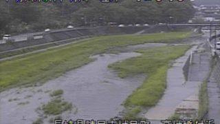 本明川 ライブカメラ(高城橋)と雨雲レーダー/長崎県諫早市