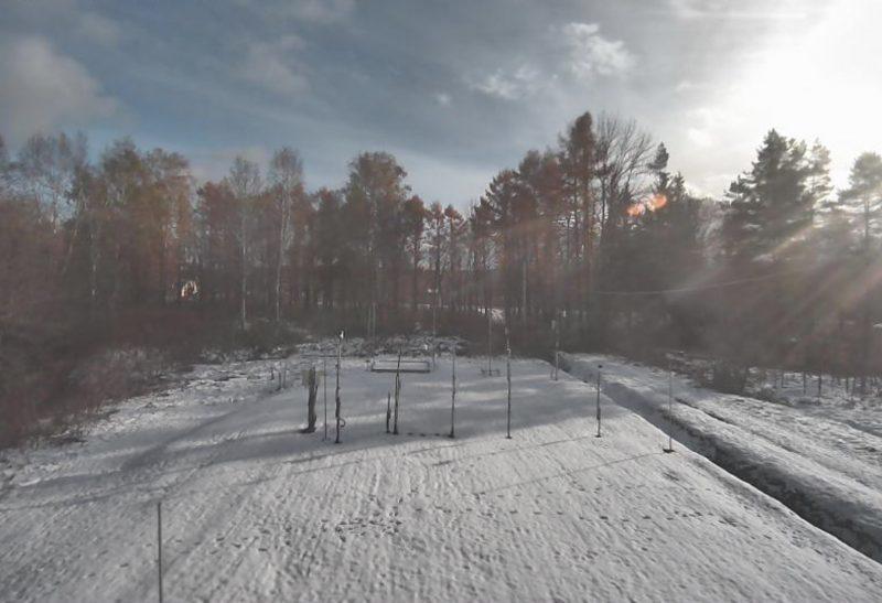 幌加内町 ライブカメラ(北海道大学 融雪観測室)と雨雲レーダー/北海道幌加内町