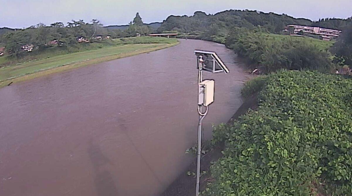 法勝寺川・馬場ライブカメラと雨雲レーダー/鳥取県南部町馬場