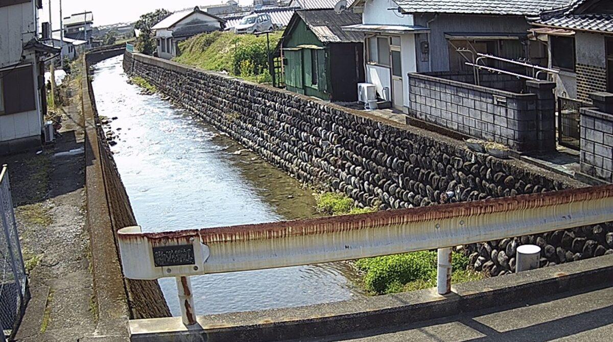 池谷川・巽枦地橋ライブカメラと雨雲レーダー/高知県田野町