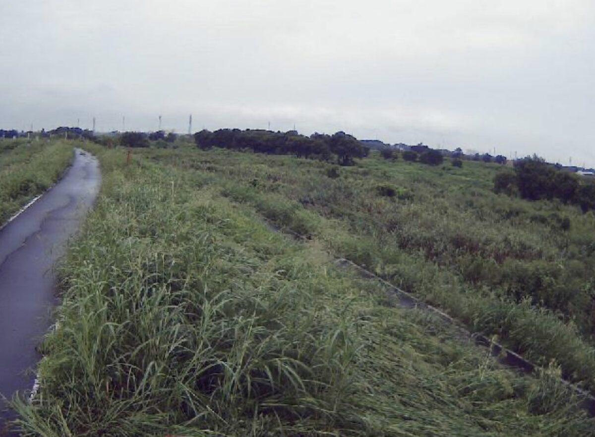 入間川・福田10.2kpライブカメラと雨雲レーダー/埼玉県川越市福田