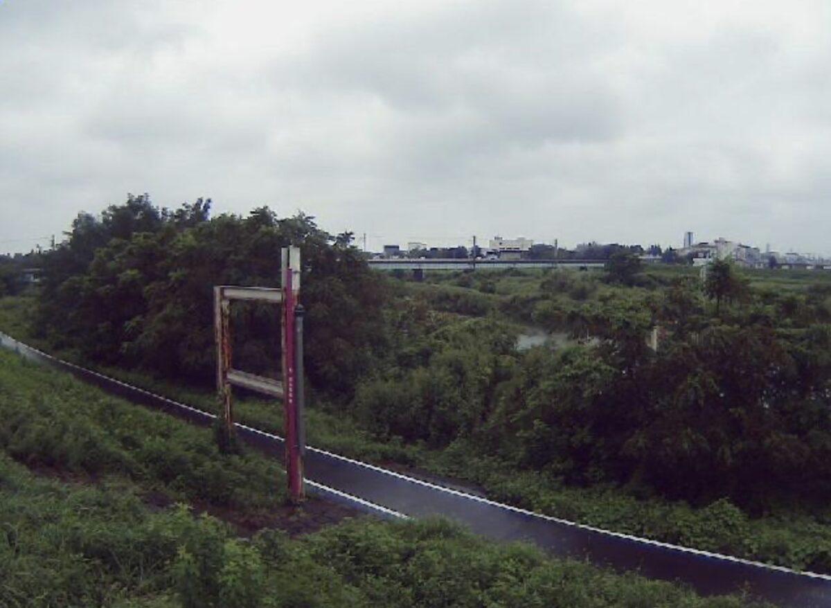 入間川・小ヶ谷14.5kpライブカメラと雨雲レーダー/埼玉県川越市小ケ谷