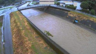 井芹川 ライブカメラ(鶴野橋)と雨雲レーダー/熊本県熊本市
