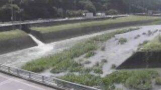岩野川・小坂橋ライブカメラと雨雲レーダー/熊本県山鹿市小坂