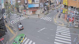 歌舞伎町 ライブカメラと雨雲レーダー/東京都新宿区
