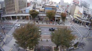 鍛冶町通りスクランブル交差点 ライブカメラと雨雲レーダー/静岡県浜松市中区