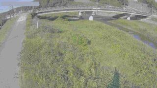 梯川・軽海新橋ライブカメラと雨雲レーダー/石川県小松市軽海町
