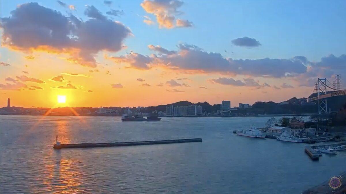 関門海峡 ライブカメラと雨雲レーダー/福岡県北九州市
