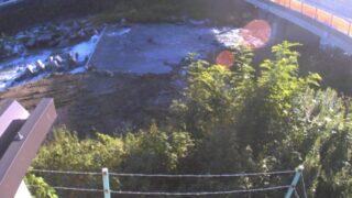 片桐松川・平石橋ライブカメラと雨雲レーダー/長野県松川町上片桐