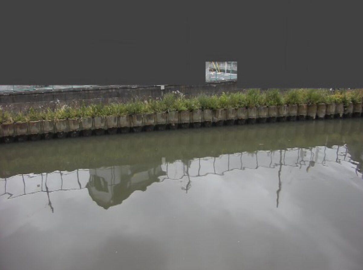 毛長川・毛長橋ライブカメラと雨雲レーダー/東京都足立区古千谷本町