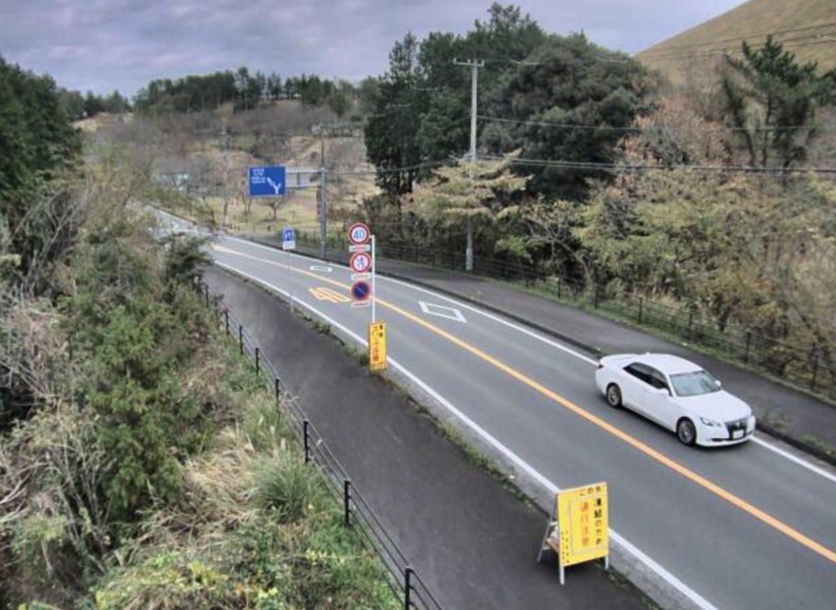 県道351号・池東松原線 さくらの里 ライブカメラと雨雲レーダー/静岡県伊東市