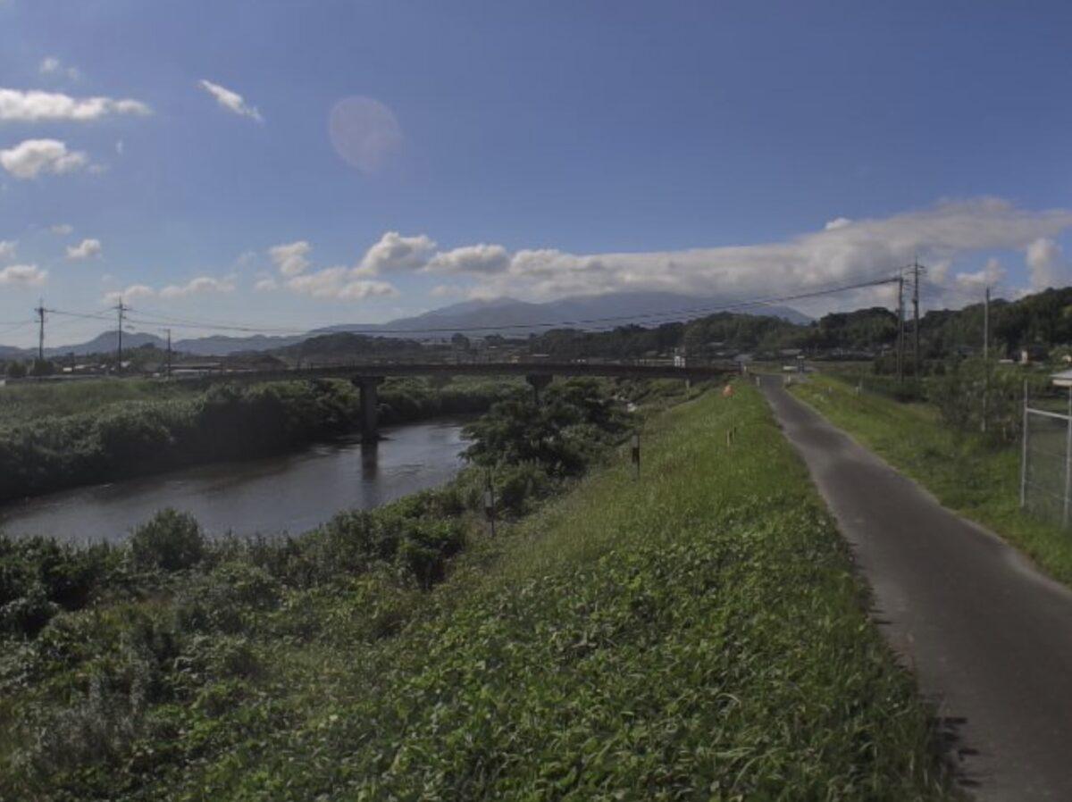 肝属川・大正橋ライブカメラと雨雲レーダー/鹿児島県鹿屋市川東町