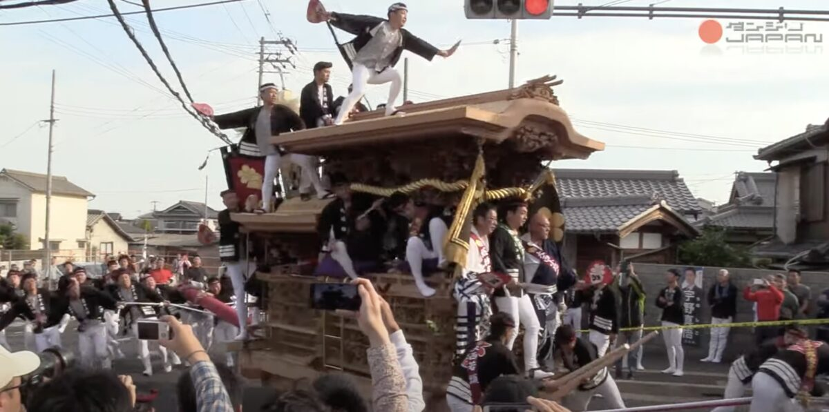 岸和田だんじり祭 ライブカメラ(ダンジリJAPAN)と雨雲レーダー/大阪府岸和田市