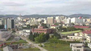 北見市 ライブカメラ(HBC)と雨雲レーダー/北海道北見市