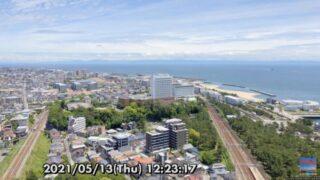 明石海峡・山陽電車・JR神戸線舞子駅 ライブカメラと雨雲レーダー/兵庫県神戸市