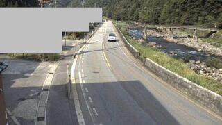 国道156号線・158号・歩岐島ライブカメラと雨雲レーダー/岐阜県郡上市白鳥町