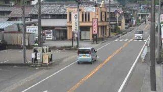 国道156号線・美並庁舎前ライブカメラと雨雲レーダー/岐阜県郡上市美並町