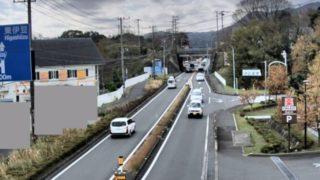国道135号・伊豆高原 ライブカメラ(下田方面)と雨雲レーダー/静岡県伊東市