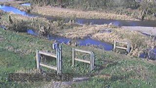 高麗川・坂戸水位観測所 ライブカメラ・水位と雨雲レーダー/埼玉県坂戸市
