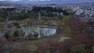 桜の開花時期限定:開成山公園ライブカメラと雨雲レーダー/福島県郡山市