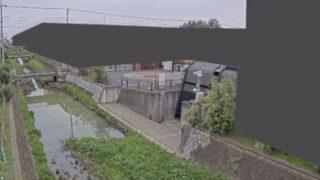 鴻沼川・神明橋観測局ライブカメラと雨雲レーダー/埼玉県さいたま市大宮区大成町
