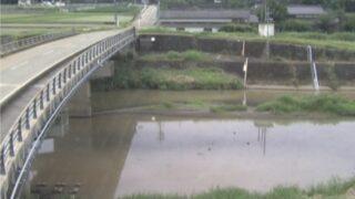 合志川・佐野水位観測所ライブカメラと雨雲レーダー/熊本県菊池市泗水町