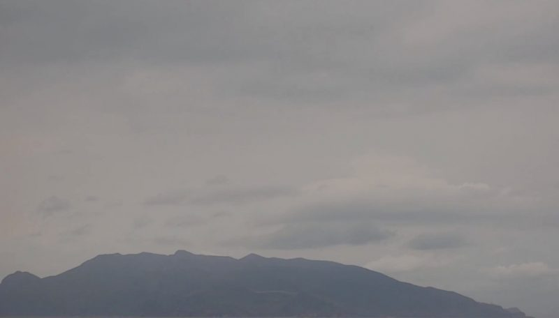 口永良部島 ライブカメラ(KYT)と雨雲レーダー/鹿児島県熊毛郡屋久島町
