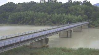球磨川 ライブカメラ(川瀬橋)と気象レーダー/熊本県あさぎり町