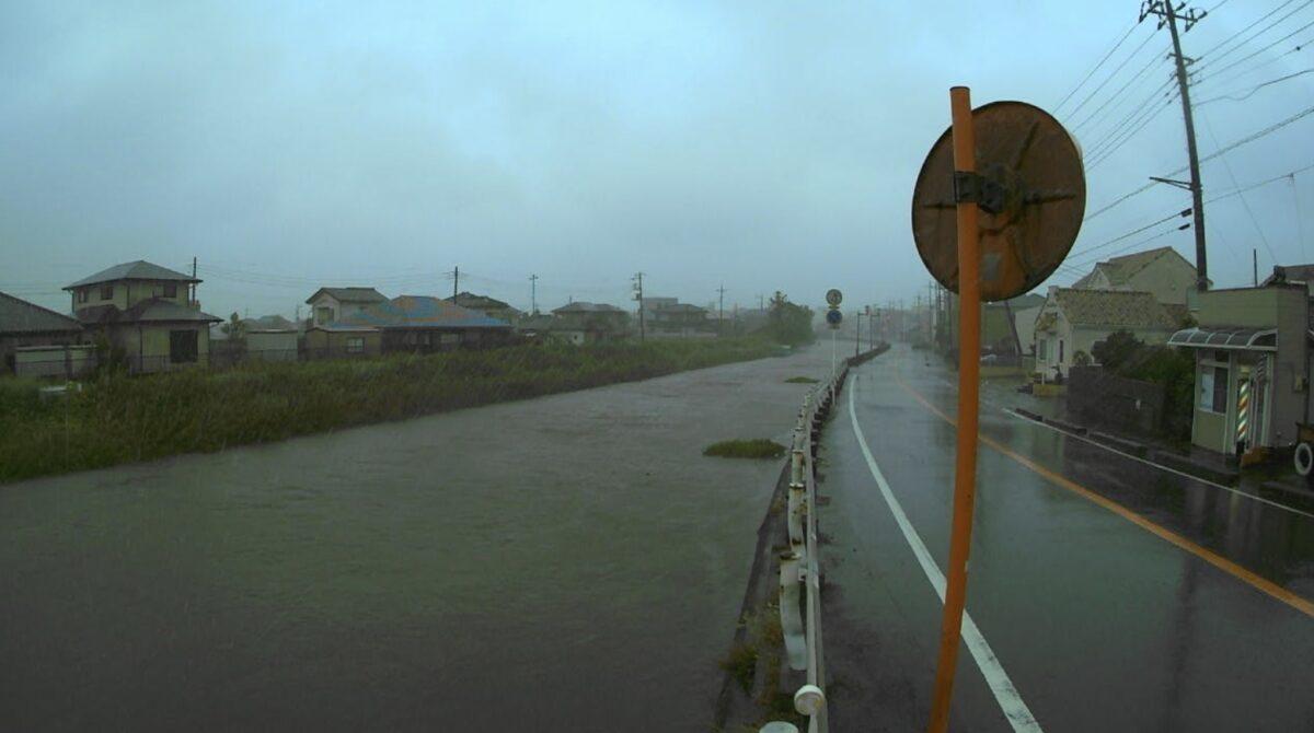 黒部川・新開橋ライブカメラと雨雲レーダー/千葉県香取市小見川