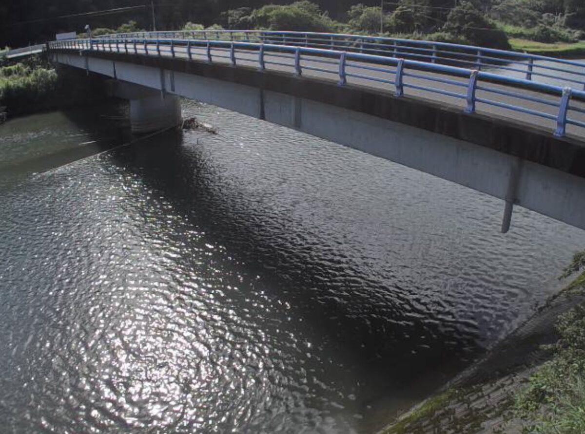 串良川・下中橋ライブカメラと雨雲レーダー/鹿児島県鹿屋市串良町
