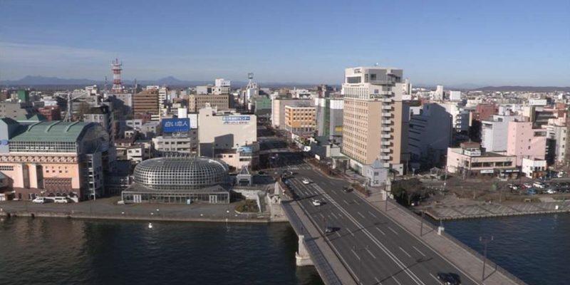 釧路川・幣舞橋 ライブカメラ(STV)と雨雲レーダー/北海道釧路市