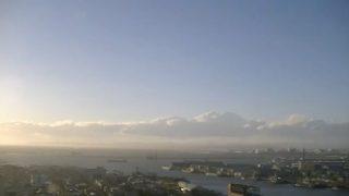 釧路港 ライブカメラ(展望レストランまいづる)と雨雲レーダー/北海道釧路市