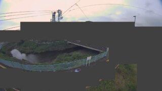 葛川・内輪橋ライブカメラと雨雲レーダー/神奈川県二宮町二宮