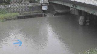 馬込川 ライブカメラ(松木橋)と雨雲レーダー/静岡県浜松市