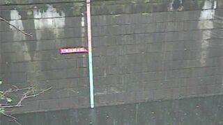 目黒川 ライブカメラ(青葉台)と雨雲レーダー/東京都目黒区
