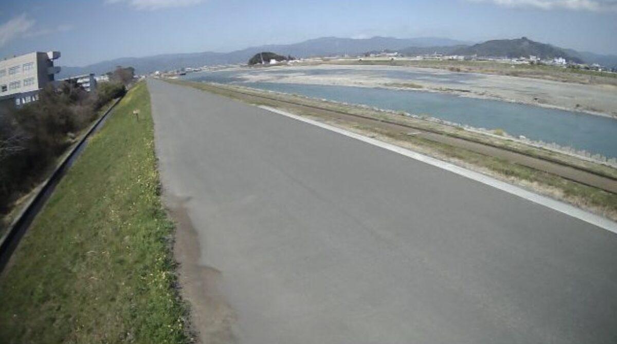 物部川・物部ライブカメラと雨雲レーダー/高知県南国市物部